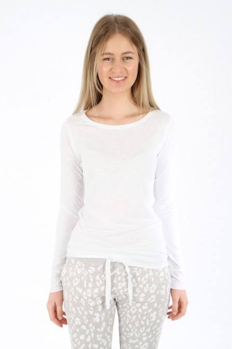 Juvia Slub Longsleeve - white