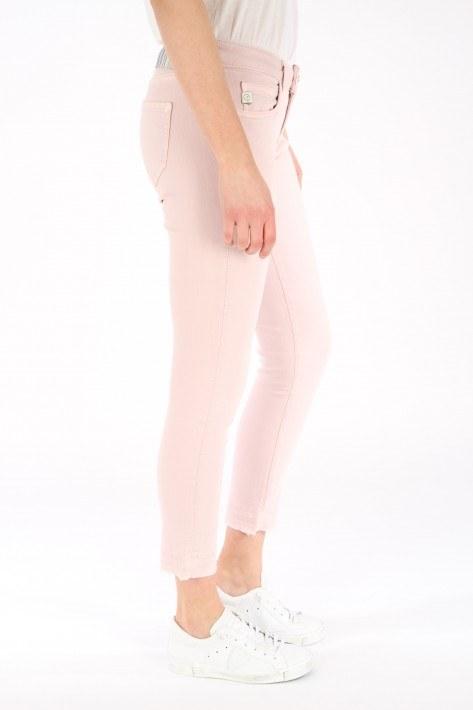 Goldgarn Jeans Rosengarten cropped - rosé