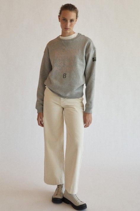 Ecoalf Llanesalf Because Women Sweatshirt - grey