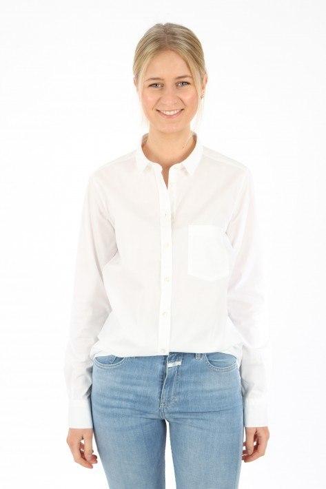 Closed Bluse Mette - white