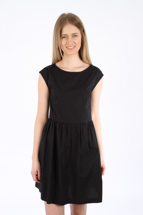 Woolrich Popeline Dress - black