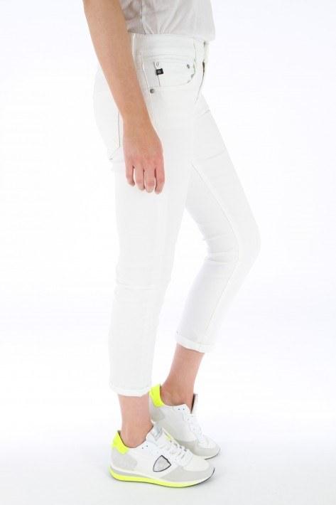AG Jeans Ex-Boyfriend slim - white