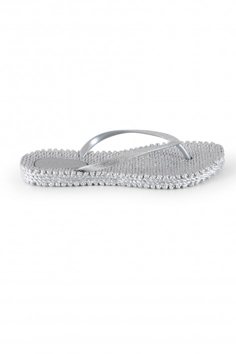 Ilse Jacobsen Flip Flop Cheerful 01 - silver