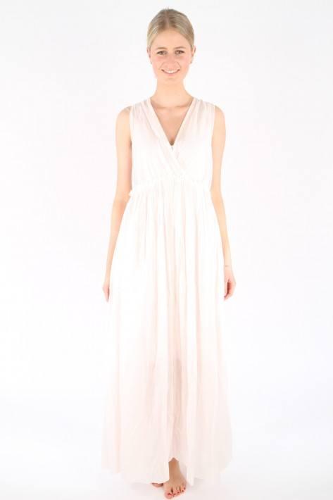 Ilse Jacobsen Maxi-Kleid VOILE7049- pale blush