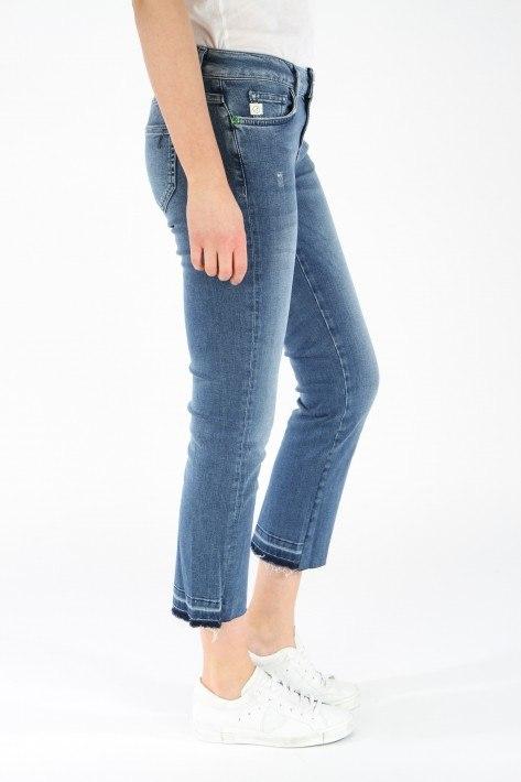 Goldgarn Jeans Rosengarten Flare - lightblue