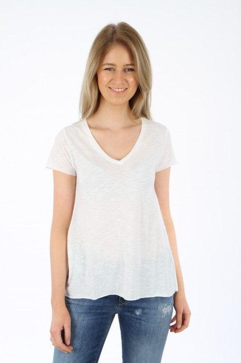 American Vintage T-Shirt Jacksonville JAC51 - white