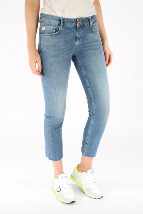 Goldgarn Jeans Rosengarten Straight - lightblue