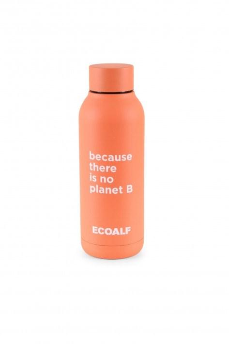 Ecoalf Edelstahlflasche Bronson - coral fluor