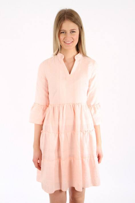 Flower for friends Tunic leveled Ethno Dress - solid rose