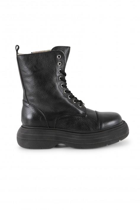 Meline Boots Grana - nero/fango
