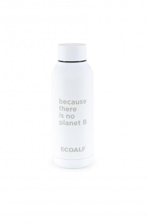 Ecoalf Edelstahlflasche Bronson - white