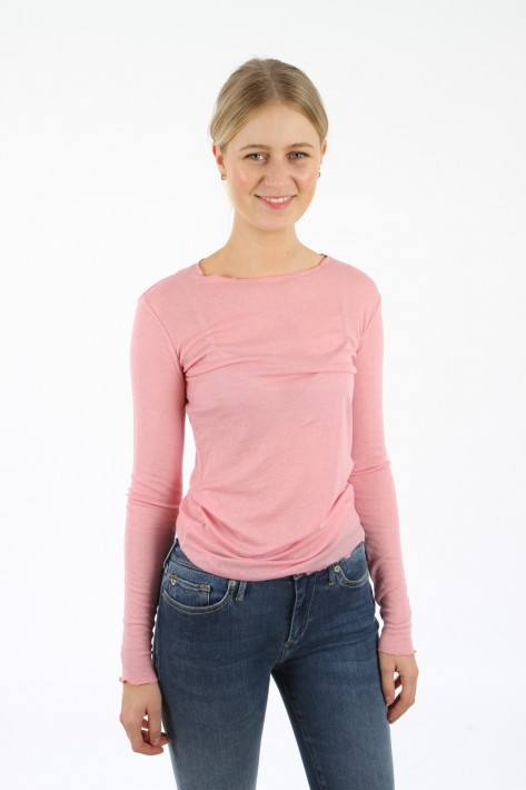 Closed Longsleeve - candy pink