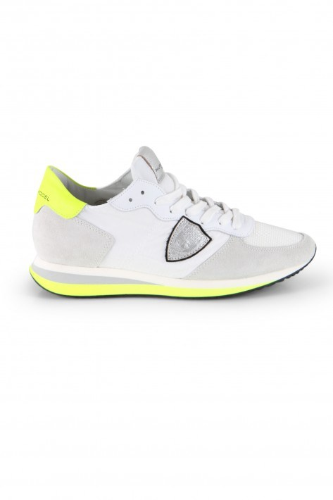 Philippe Model Sneaker TRPX Low Mondial Neon Blanc