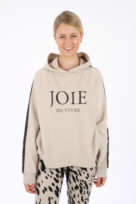 Juvia Hoodie 'Joie de vivre' - light walnut