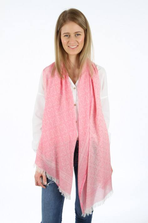 Codello Logo Scarf - dark pink