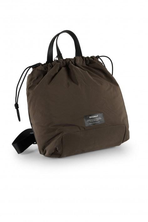 Ecoalf Rucksack Rufinalf Puffy Bag - dark bronze