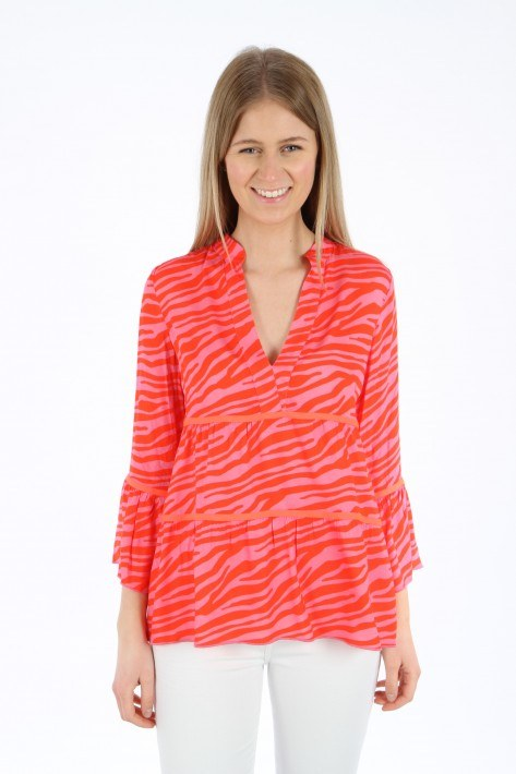 Risy & Jerfs Bluse Princeton - pink/red