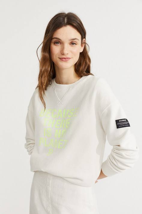 Ecoalf Because Sweatshirt - antartica