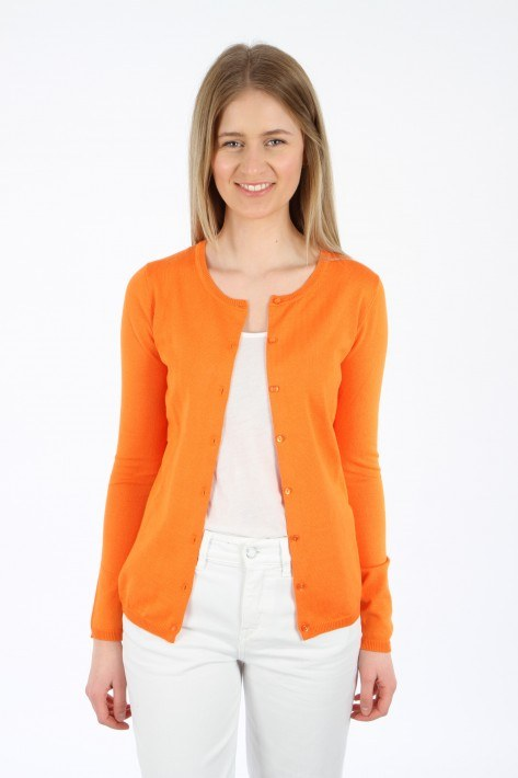 Ilse Jacobsen Cardigan - red orange