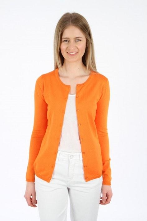 Ilse Jacobsen Cardigan - red orange