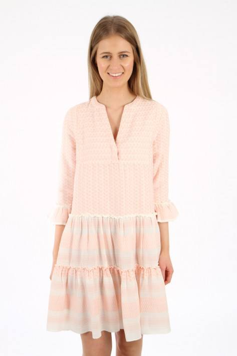 Flower for friends Pali Tunic Dress - holiday pink
