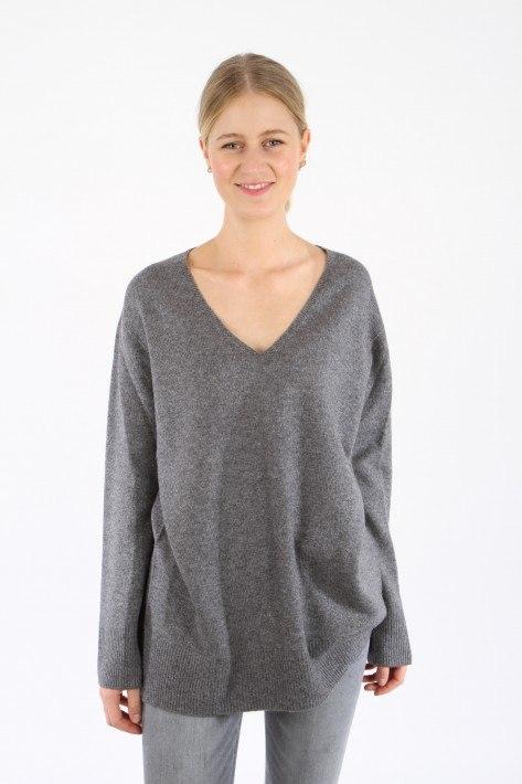 Drykorn Pullover Leyani - grey