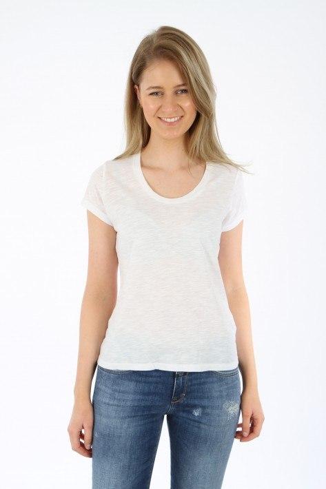 American Vintage T-Shirt Jacksonville JAC48 - WHITE