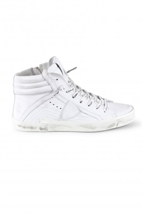 Philippe Model High Top Sneaker - white