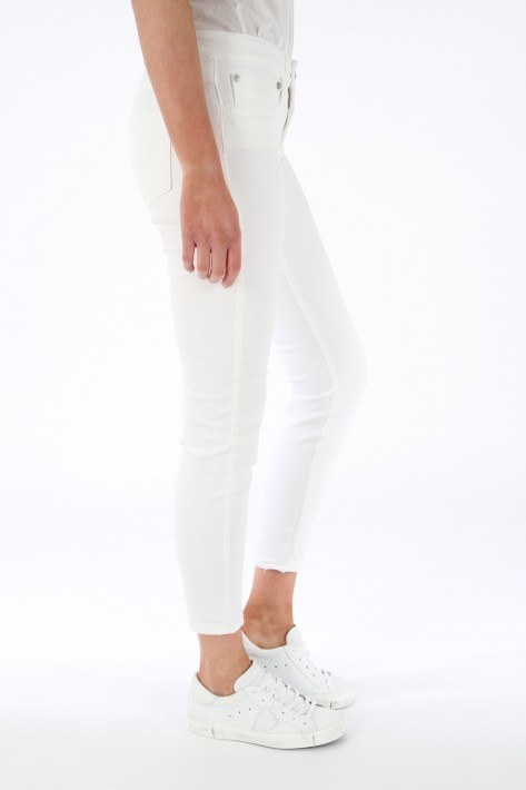 Closed Jeans Baker destroyed - white