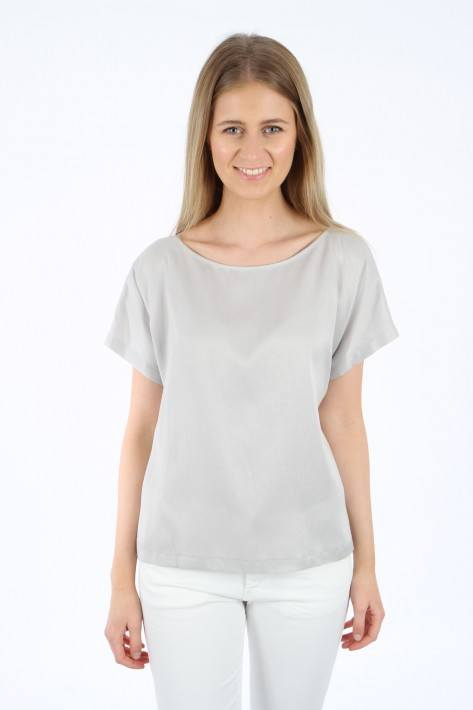 Drykorn Blusenshirt Somia - grey