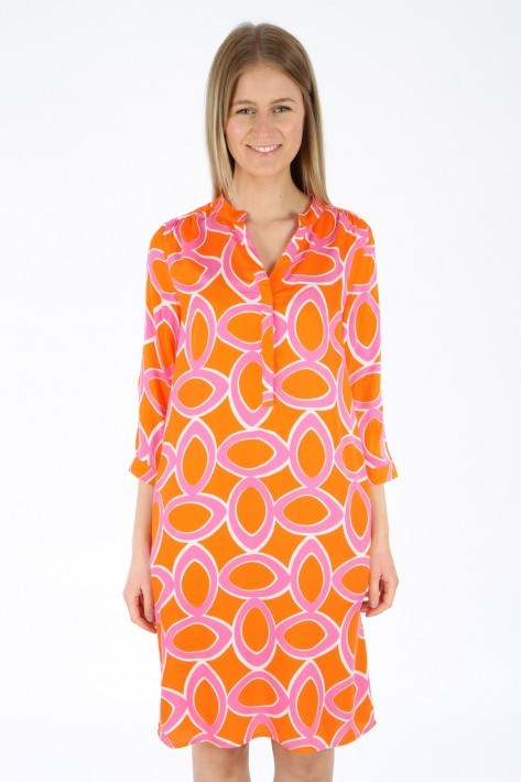 Tonno & Panna Kleid Sibi - orange/pink