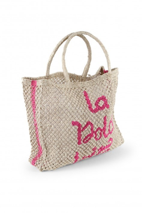 The Jacksons Tasche Large La dolce Vita - nature/pink