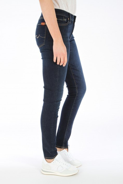 7 for all mankind Jeans The Skinny - rinsed indigo
