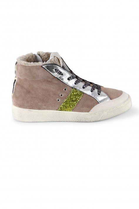 Meline Sneaker Evo Oslo - taupe/silver