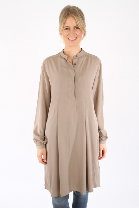 0039 Italy Kleid Olympia New - taupe